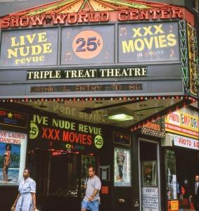 Photo © Gregoire Alessandrini; via his excellent website, New York City 1990′s