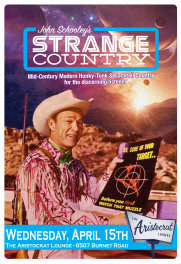 roy rogers strange country poster